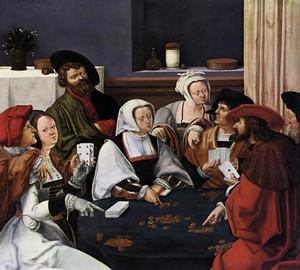Kartenspieler, Lucas Hagens van Leiden (Luca Leiden)