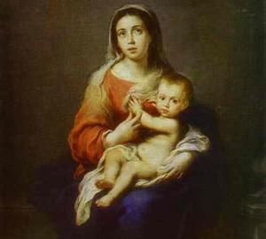 Madonna und Kind, Bartolomeo Esteban Murillo