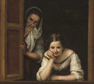 """""""Zwei Frauen im Fenster"""", Bartolome Esteban Murillo – Beschreibung des Gemäldes"""