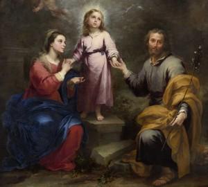 """Two Trinity"", Bartolome Esteban Murillo – Beschreibung des Gemäldes"