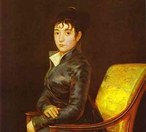 Porträt von Dona Teresa Louise de Sured, Francisco de Goya