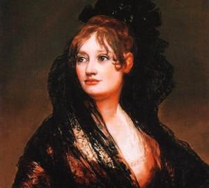 Porträt von Donna Isabel de Porsel, Francisco de Goya