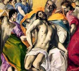 Gemälde Trinity, El Greco