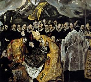 """""""Beerdigung des Grafen Orgas"""", El Greco – Beschreibung des Gemäldes"""