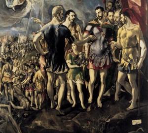 """""""Martyrium von St. Mauritius"""", El Greco – Beschreibung des Gemäldes"""