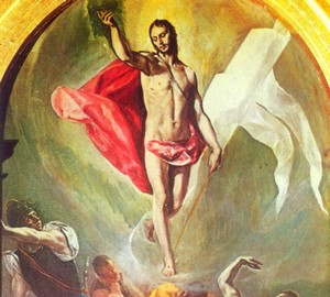 """""""Auferstehung"""", El Greco – Beschreibung des Gemäldes"""