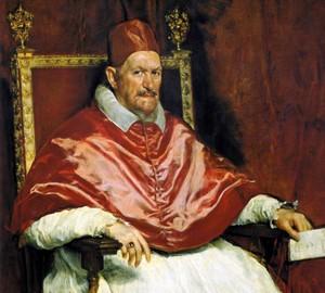"""""""Porträt von Papst Innocent X"""", Diego Velazquez"""