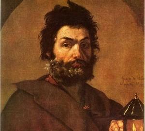 """Diogenes"", Hussepe de Ribera – Beschreibung des Gemäldes"