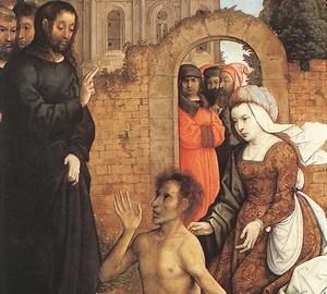 """""""Die Auferstehung des Lazarus"""", Juan de Flandes – Beschreibung des Gemäldes"""