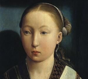 """""""Porträt eines Mädchens"""", Juan de Flandes – Beschreibung des Gemäldes"""