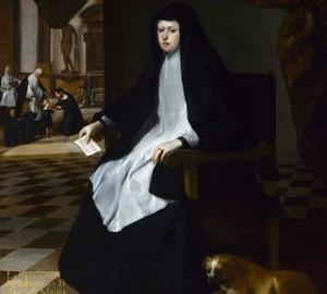 """""""Königin Marianna Grieves"""", Juan Bautista Martinez del Mazo – Beschreibung des Gemäldes"""