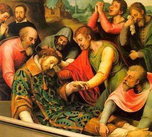 """Gebet um Erlösung"", Juan de Juanes – Beschreibung des Gemäldes"
