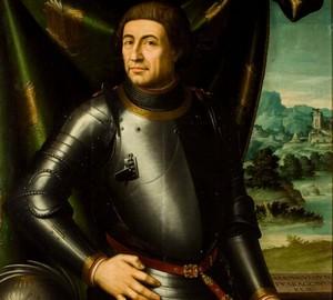 """""""König von Aragon Alphonse V"""", Juan de Juanes – Beschreibung des Gemäldes"""