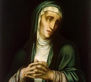 """""""Die trauernde Jungfrau"""", Luis de Morales – Beschreibung des Gemäldes"""