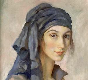 Selbstporträt, Zinaida Evgenievna Serebryakova – Beschreibung