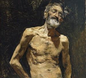 """""""Bettler alter Mann in der Sonne"""", Mariano Fortuni – Beschreibung des Gemäldes"""