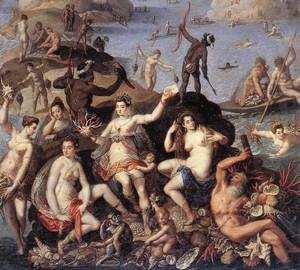 Meeresfrüchte, Jacopo Dzukki, 1585