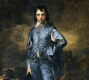 """""""Boy in Blue"""", Thomas Gainsborough – Beschreibung des Gemäldes"""