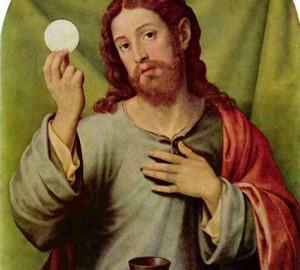 """""""Die Eucharistie"""", Juan de Juanes – Beschreibung des Gemäldes"""