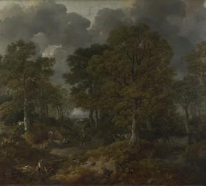 """""""Cornard Forest"""", Thomas Gainsborough – Beschreibung des Gemäldes"""