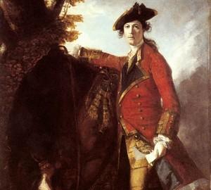 Porträt von Kapitän Robert Orme, Joshua Reynolds, 1756