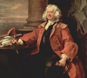 Porträt von Kapitän Thomas Coram, William Hogarth – Beschreibung