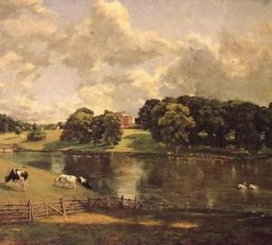Uivengo Park, John Constable, 1816