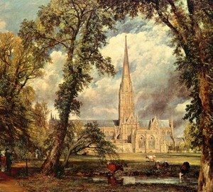 Kathedrale von Salisbury – John Constable