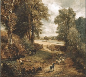 Maisfeld, John Constable, 1826