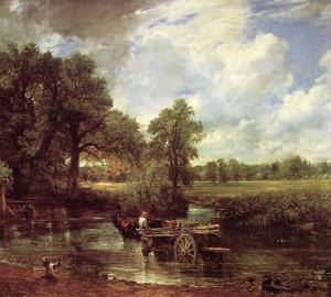 Wagen für Heu, John Constable – Beschreibung des Gemäldes