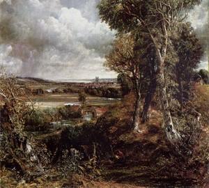 Deadham Valley, John Constable – Beschreibung des Gemäldes