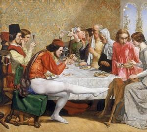 """""""Isabella"""", John Everett Millet – Beschreibung des Gemäldes"""