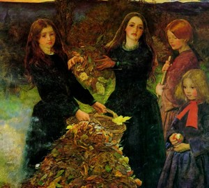 """Autumn Leaves"", John Everett Millet – Beschreibung des Gemäldes"