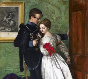 Der schwarze Braunschweiger Husar, John Everett Millet – Beschreibung des Gemäldes