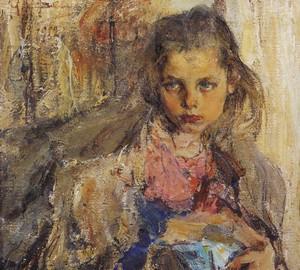 """""""Katya"""", Nikolai Ivanovich Feshin – Beschreibung des Gemäldes"""