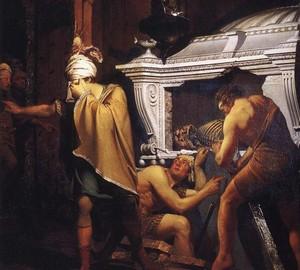 """""""Miravan"""", Joseph Wright – Beschreibung des Gemäldes"""
