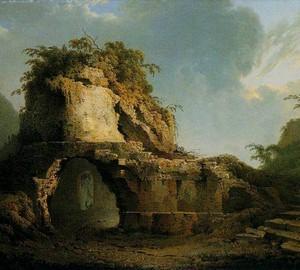 """""""Das Grab der Jungfrau"""", Joseph Wright – Beschreibung des Gemäldes"""