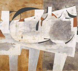 August, Ben Nicholson – Beschreibung des Gemäldes