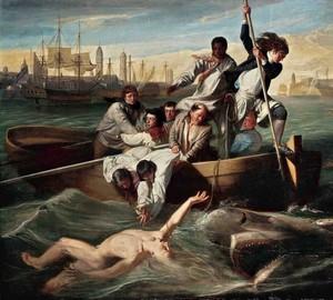 Brooke Watson und der Hai, John Singleton Copley, 1778