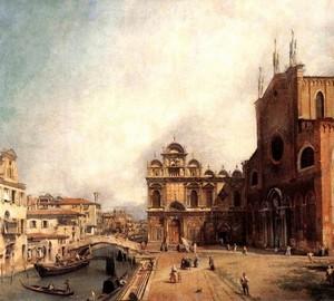Kathedrale San Giovanni e Paolo und Piazza San Marco, Antonio Canal
