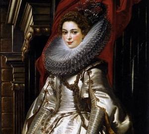 Porträt der Marquise Brigitte Spinola Doria, Rubens, 1606