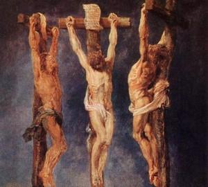 Gemälde Die drei Kruzifixe (Kalvarienberg), Rubens, um 1640