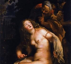 Susanna und die Ältesten, Peter Paul Rubens, 1607-1608