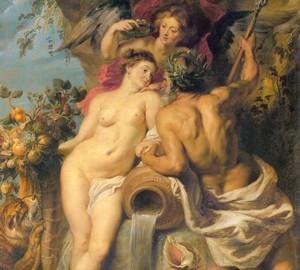 Union von Erde und Wasser, Rubens, 1618