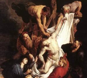 Bild Der Abstieg vom Kreuz, Rubens, 1612