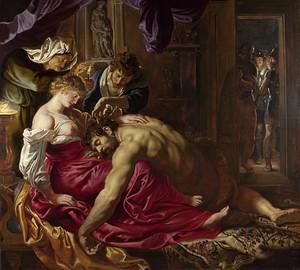 Bild Samson und Delilah, Rubens, 1609