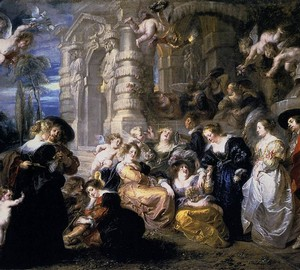 Garten der Liebe, Rubens, 1632