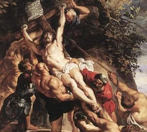 Kreuzerhöhung, Peter Paul Rubens – Beschreibung des Gemäldes
