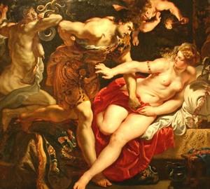 Tarquinius und Lucretia, Peter Paul Rubens – Beschreibung