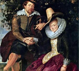 Selbstbildnis mit Isabella Brant, Peter Paul Rubens – Beschreibung
